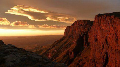 North Drakensberg Traverse, Sud Africa