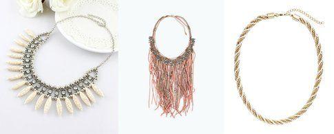 Collane: Romwe, Zara, H&M