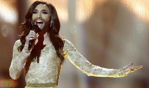 Conchita all'Eurovision 2014