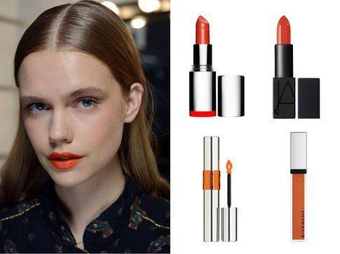 Rossetti e gloss per labbra arancioni