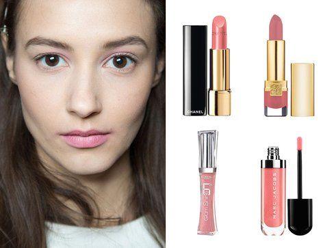 Rossetti e gloss per labbra rosa