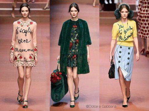 Le proposte colorate di Dolce e Gabbana- fonte elle.it