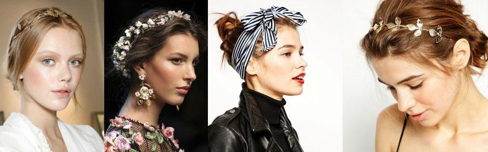 Accessori per capelli per la primavera-estate 2015