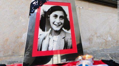 Anna Frank - Fonte: Cnn.com