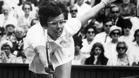 Billie Jean King - Fonte: Cnn.com