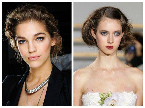 Acconciature da sposa per capelli corti