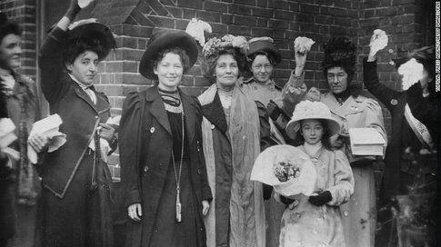 Emmeline Pankhurst - Fonte: Cnn.com