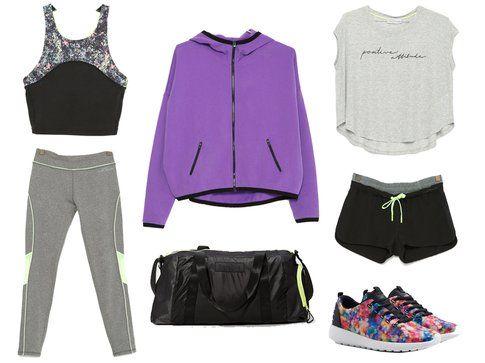 La collezione Gymwear di Bershka