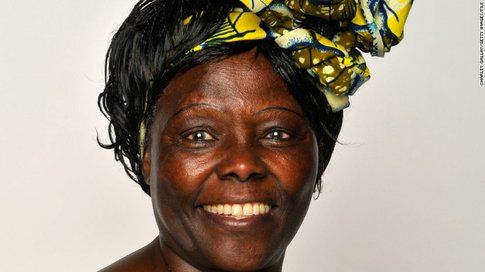 Wangari Muta Maathai - Fonte: Cnn.com