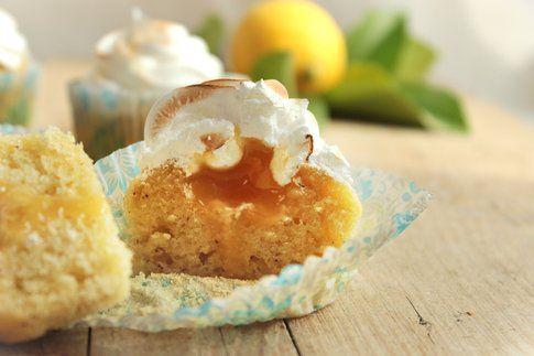 Tortini al lemon curd e meringa