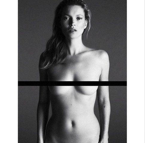 Kate Moss nuda - Fonte: Instagram Mert Alas e Marcus Pigott