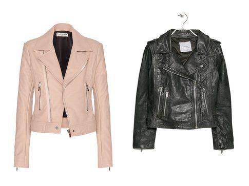 Le giacche di pelle di Balenciaga e Mango