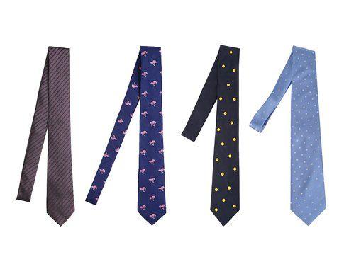 Le cravatte di Zegna, Eton, Jupe By Jackie e Lanvin