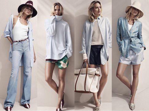 Alcuni look della collezione H&M STUDIO P/E 15- fonte: H&M