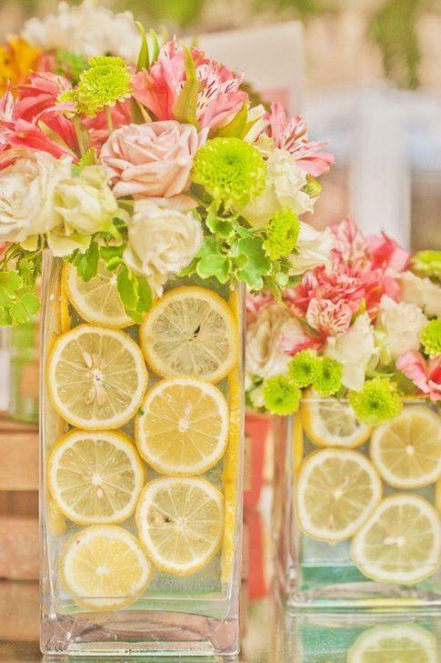 Fiori ed agrumi (limoni)