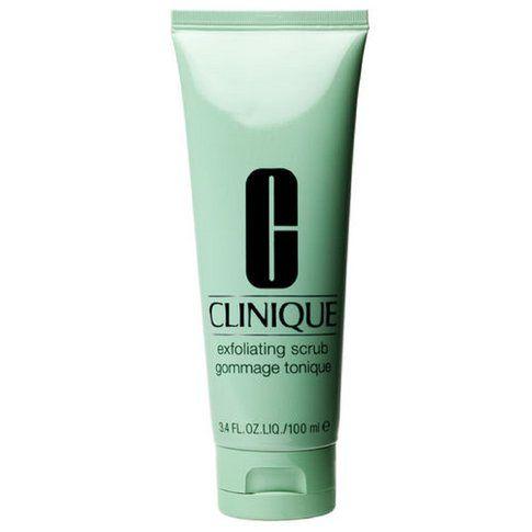 Clinique Exfoliating Scrub - Esfoliante detergente elimina le cellule morte, affina la grana della pelle e leviga le linee.
