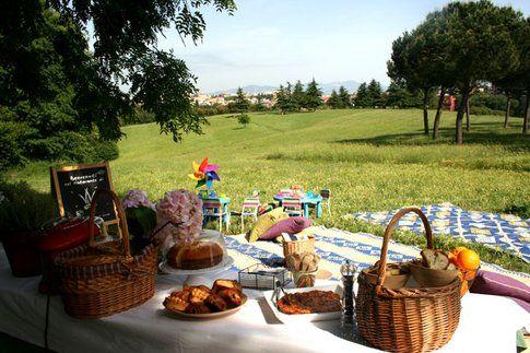 Il picnic di Vivi Bistrot a Villa Panphili - Roma
