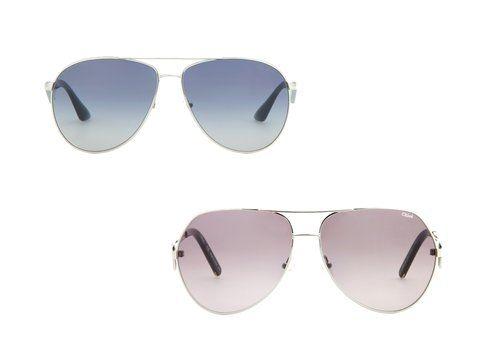 Gli occhiali da sole di Prada e Chloé