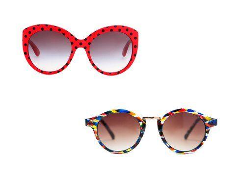 Gli occhiali da sole di Dolce&Gabbana e Zara