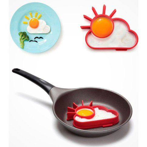 Formina uovo a forma di nuvola con sole