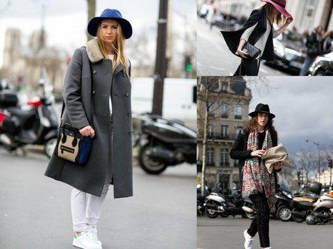 Street Style da Parigi: protagonista il cappello! - fonte: grazia.it, elle, lofficiel