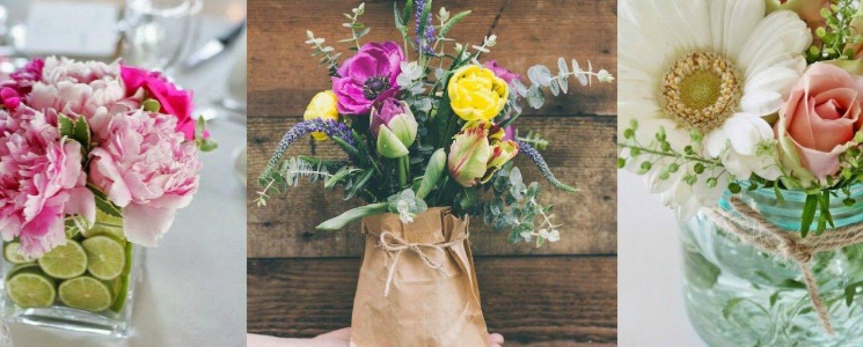 Come decorare casa con 5 composizioni floreali fai da te - Decorare casa fai da te ...