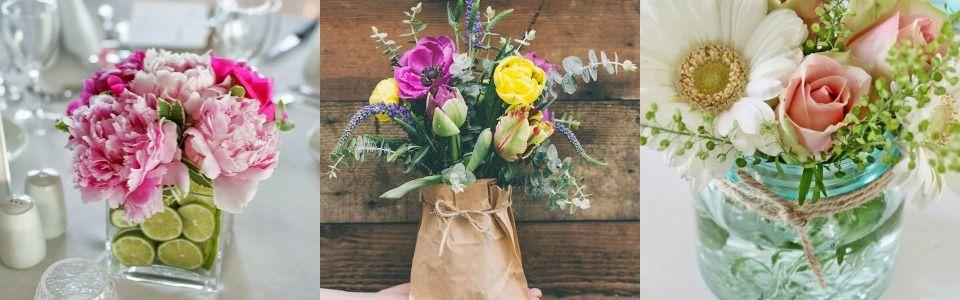 Come decorare casa con 5 composizioni floreali fai-da-te