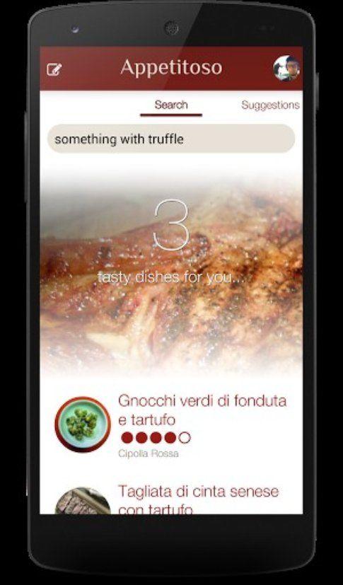 l'app Appetitoso