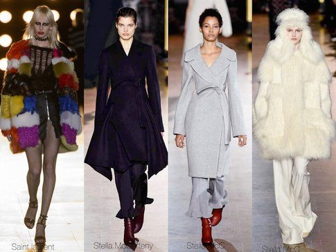 Pellicce, ma anche cappotti strategici lanciati da Stella McCarteny-fonte: elle.it
