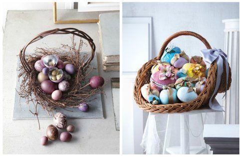 Cestini - addobbi pasquali DIY Pinterest