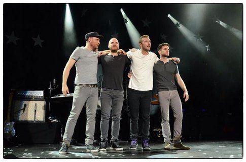 Coldplay - Fonte: Facebook
