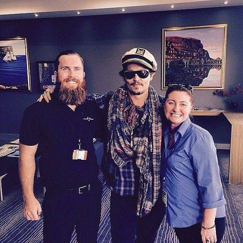 Johnny Depp in Australia - Fonte: Facebook