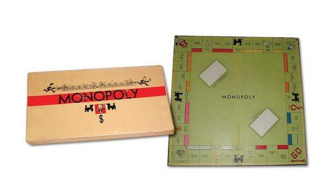 Monopoly, prima edizione