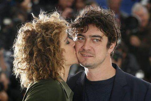 Riccardo Scamarcio e Valeria Golino - Fonte: Twitter