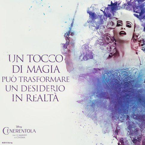 Cenerentola, la fata madrina - Fonte: Facebook