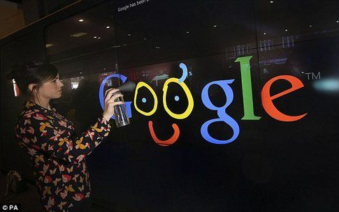 Google Shop, Doodle sui muri - Fonte: Dailymail