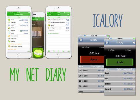 MyNetDiary e iCalory