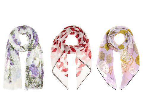 I foulard di Dolce&Gabbana, Saint Laurent e Bottega Veneta