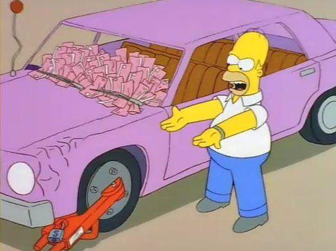 The Simpson, auto - Fonte: Funnyordie