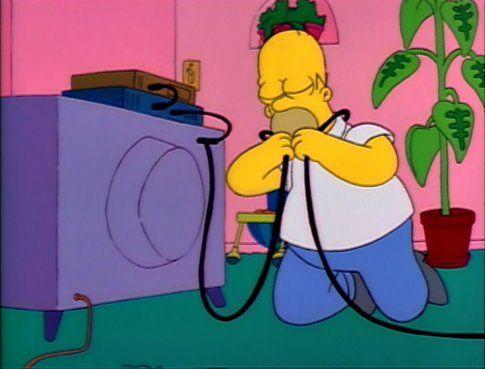 The Simpson, la tv - Fonte: Funnyordie