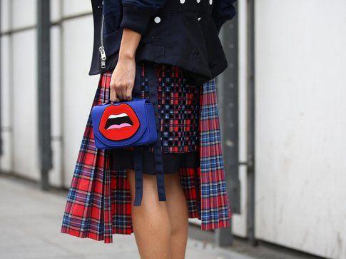 Mini bag colorata - Foto: Grazia