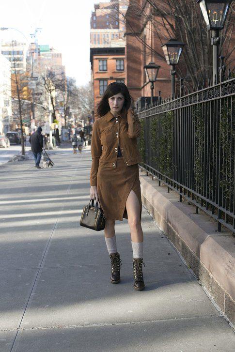 la blogger Valentina Siragusa indossa calzettoni morbidi