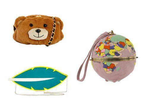 Le borse di Moschino, Charlotte Olympia e Olympia Le Tan