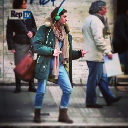 Beatrice Arnera in #celeRentola - foto concessa da Beatrice Arnera