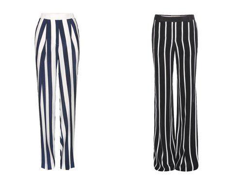 Righe verticali: i pantaloni di Stella McCartney ed Emilio Pucci