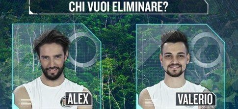 Valerio Scanu VS Alex Belli
