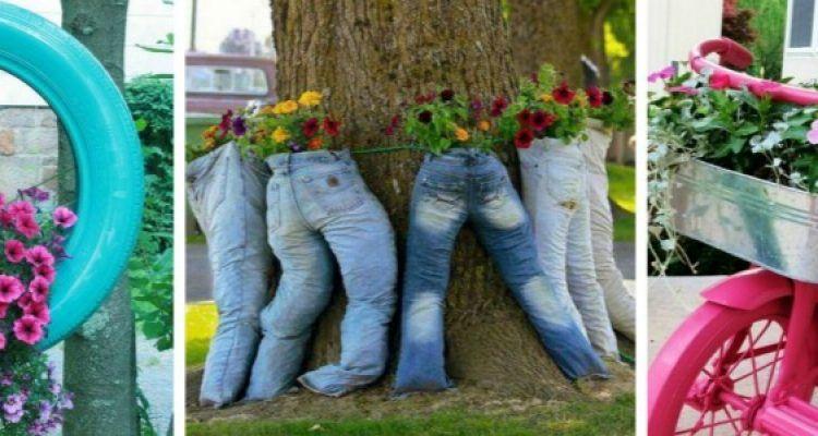 10 idee geniali per il tuo giardino bigodino for Recinzione economica fai da te