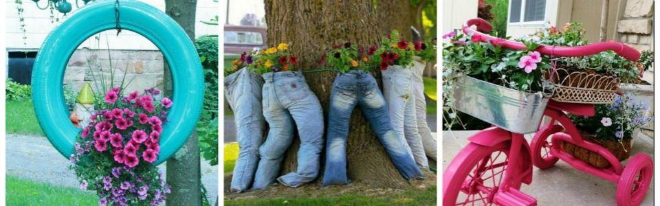 10 idee geniali per il tuo giardino