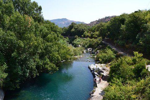 Il Parco Fluviale di Alcantara