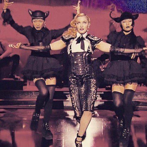 Madonna in concerto - Fonte: Facebook